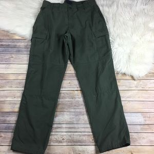 5.11 Tactical Pants Green Size XL 39x34